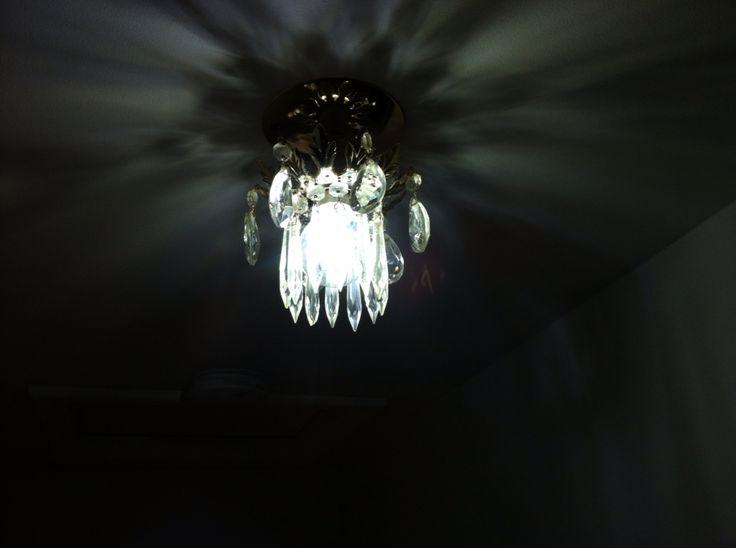 5W #Daylight #LEDFilamentBulb , perfectiy brilliant for this fixture.