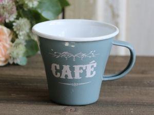 Bilde av Emaljekopp Cafe grå