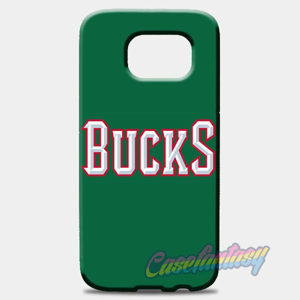 Nba Dc Bucks Logo Head Samsung Galaxy S8 Case | casefantasy