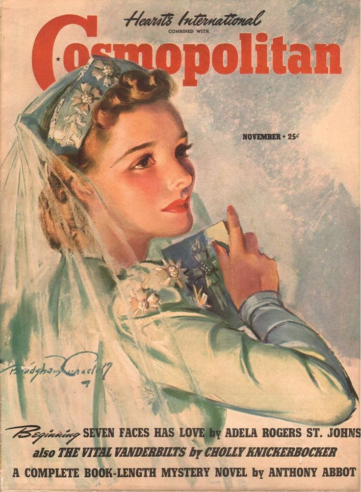 Cosmopolitan Magazine, November 1939 (Bradshaw Crandell)