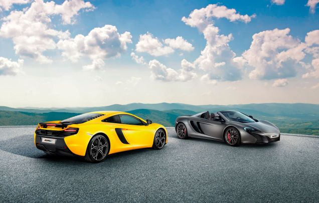 The New McLaren 625C ... I want one of these!