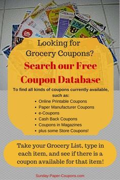 Free Coupons by Mail | How to Get Coupons in the Mail