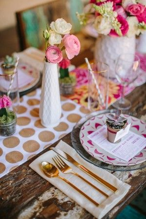 Kate Spade Inspired Wedding Ideas
