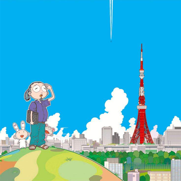 Takashi Murakami - Tokio Tower « Walton Fine Arts