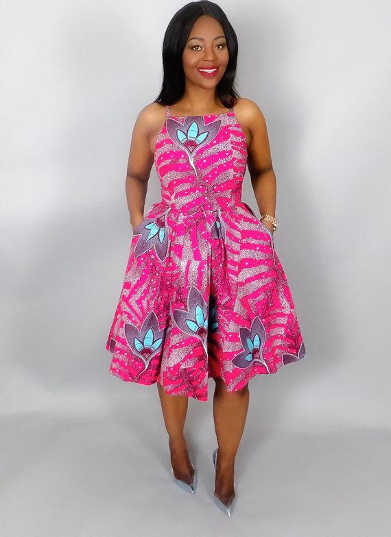 afrikanische kleider damen