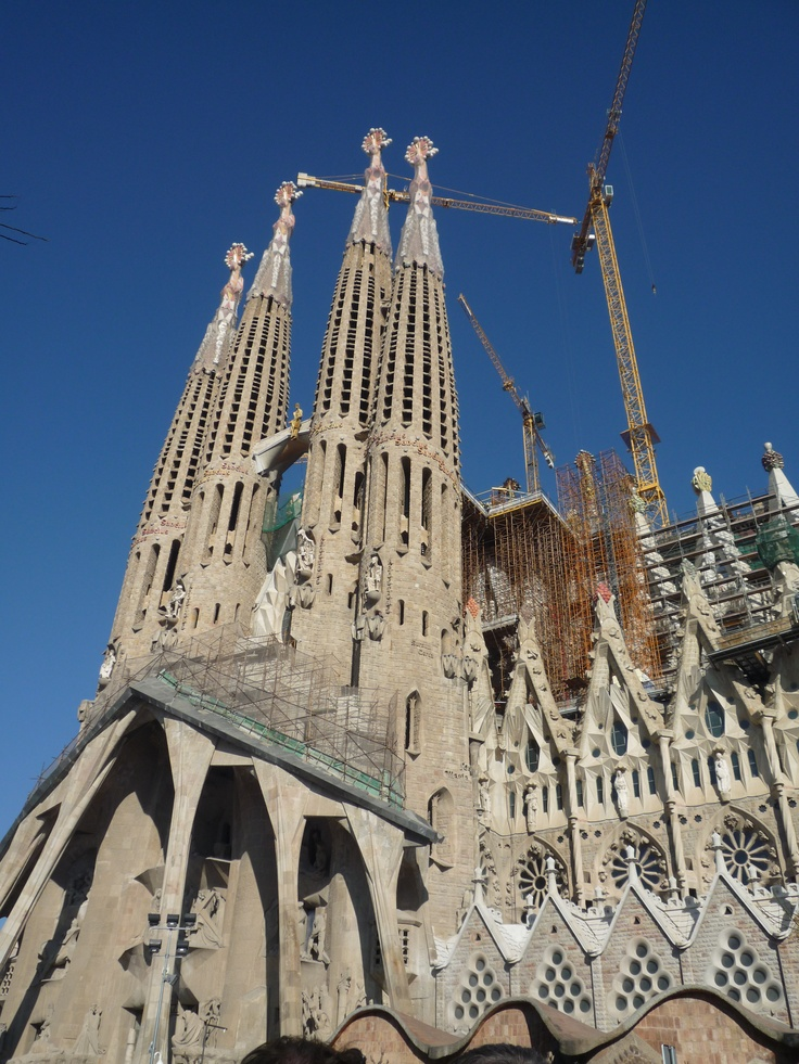 Barcelona, Spain- Sagrada Familia