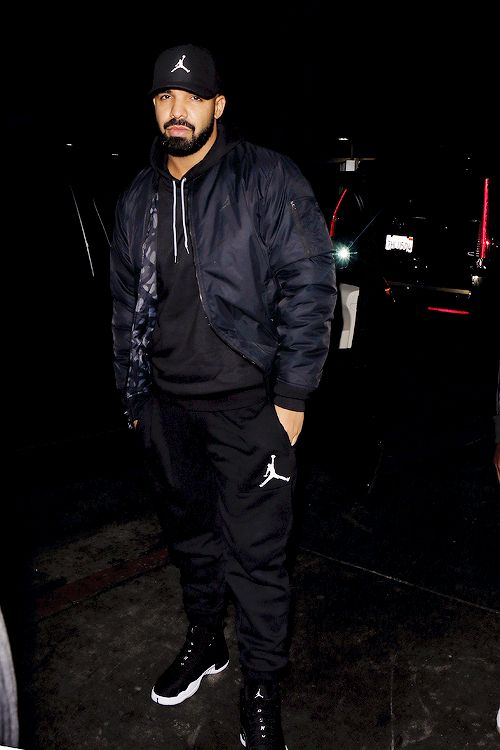 celebritiesofcolor: Drake at The Nice Guy in WeHo