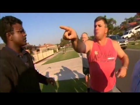 RACISM IN AUSTRALIA  White fear and paranoia manifest as a non-violent/ non-white resident turns the cameras around in his predominantly white neighborhood...