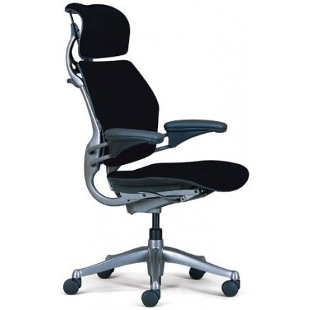 Humanscale Freedom - Ergonomic task chair with headrest.  FREE shipping in Canada at Ugoburo.ca