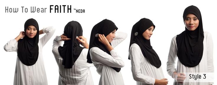How to wear FaithNeda scarf