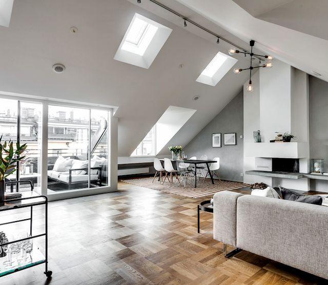 37 Interior Design Decorating Ideas For Incredible Attics In 2020 Attic Apartment Apartment Design Apartment Interior Design