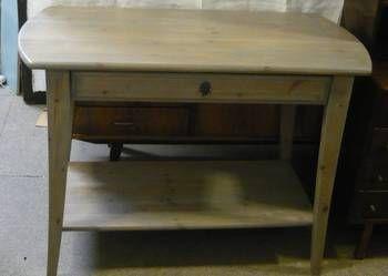 Stolik, konsola drewno