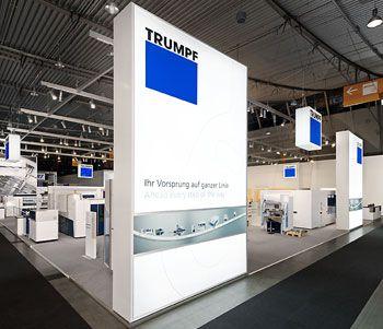 für die form|TRUMPF | BLECHexpo '11 - Stuttgart