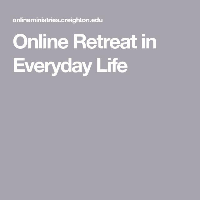 Online Retreat in Everyday Life