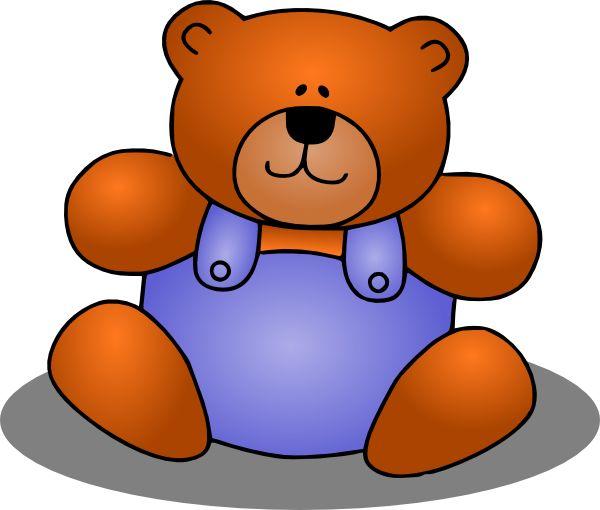 teddy bear clip art pinterest - photo #6