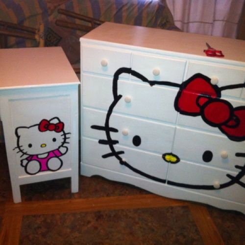 Hello Kitty Dressers. Holy crap.