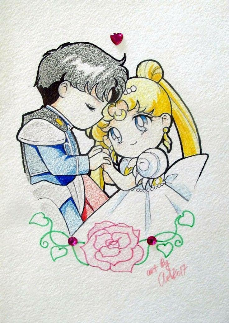 Princess and prince chibi