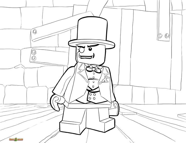 lego mr gold coloring pages - photo#26