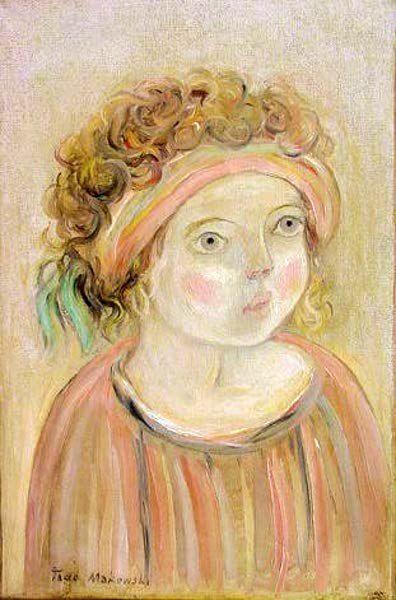 Tadeusz Makowski - Girl Portrait