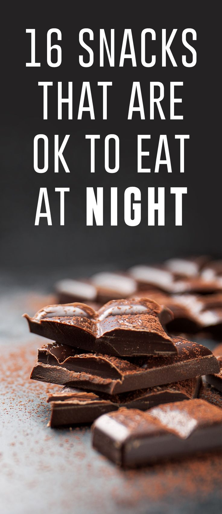 Craving a snack late at night? It's okay! There are plenty of nutritious and tasty snacks you can sneak in before bed and not bust your diet, like frozen blueberries, dark chocolate, protein cake batter and more!
