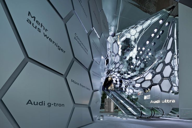 Completed in 2015 in Frankfurt, Germany. Images by Andreas Keller. Audi's exhibition at the 2015 Frankfurt Motor Show is raising the bar for innovative live communication: before visitors get to see the full range of...