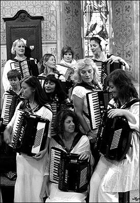 The No. 1 Ladies Accordion Orchestra UK
