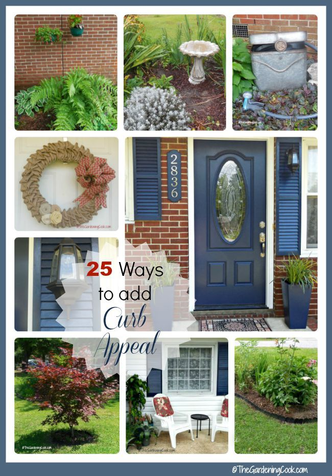 Create Curb Appeal Using These 22 Tips Gardens Sodas