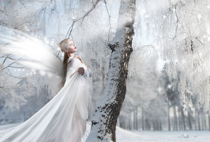 DeviantArt: More Like winter fairy by MIAphotos