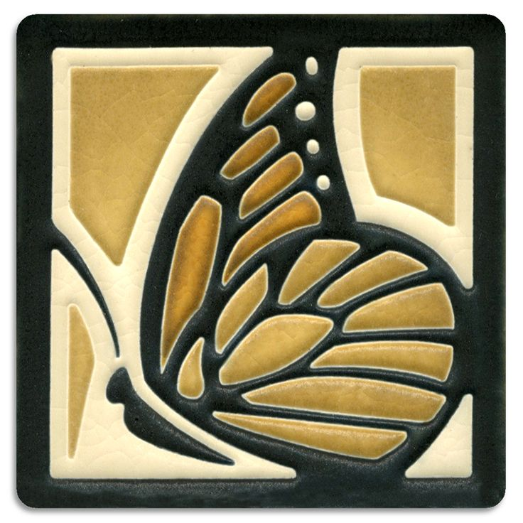 Motawi Tileworks Collection It all started with a Dragonfly tile. We loved it so much that other small insects and animals were added to the line, including this Butterfly, a Bee, a Turtle, and a Frog
