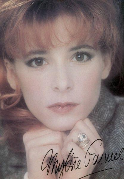 Autograph by Mylene Farmer