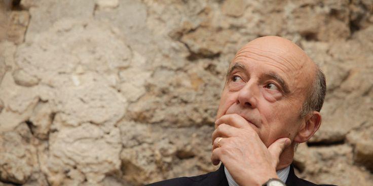 """Alain Juppé estime qu'un mot de la tribune a """" dépassé la pensée """" de Nicolas Sarkozy. ."""