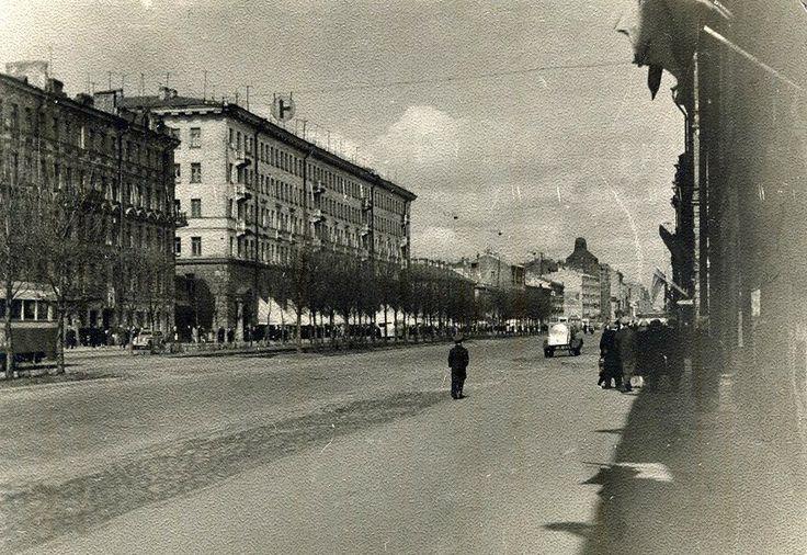 Лиговский проспект.  1958 г.