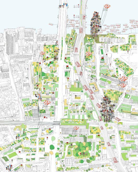 """""""London City Farmhouse by Catrina Stewart"""" #map #london #city"""
