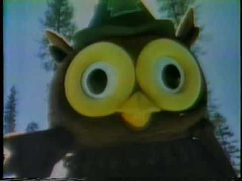 """Woodsy Owl 1977 TV public service announcement. Give a hoot, don't pollute... YOUR VIBRATION! """"Woo-Woo"""" inspiration awaits you at www.debbianne.com."""