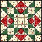 Christmas Star 12 patch.