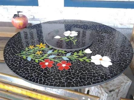 25 melhores ideias sobre mesas de mosaico no pinterest for Mesas de mosaico
