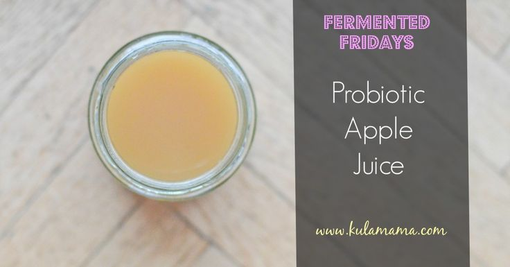 Probiotic Apple Juice by www.kulamama.com