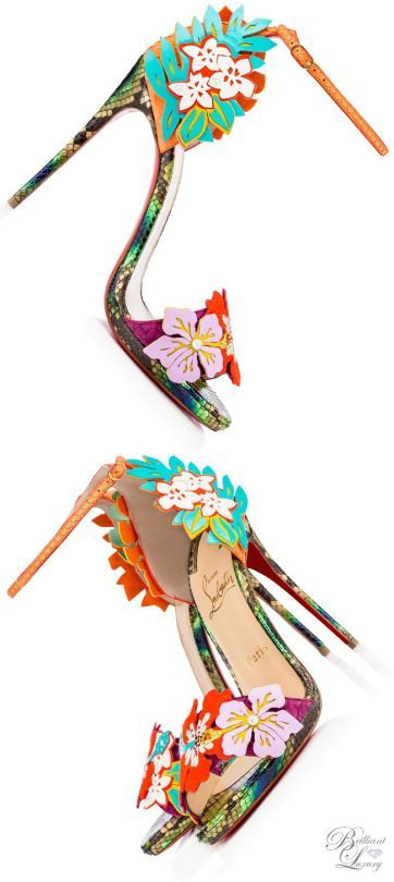 Trendy High Heels Inspiration    Christian Louboutin Hot Summer Sandals 2016  - #Heels https://talkfashion.net/shoes/heels/trendy-high-heels-inspiration-christian-louboutin-hot-summer-sandals-2016/