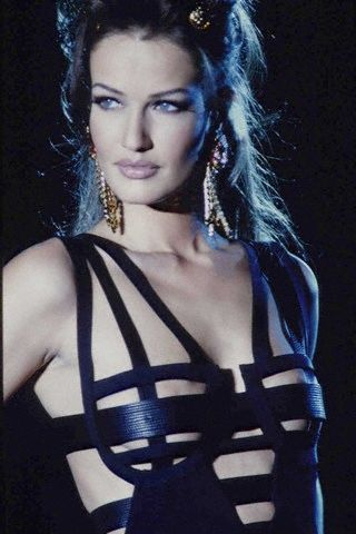 I still want this!! 1992 Karen Mulder for Versace