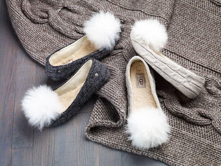 UGG Australia's knite ballet slippers