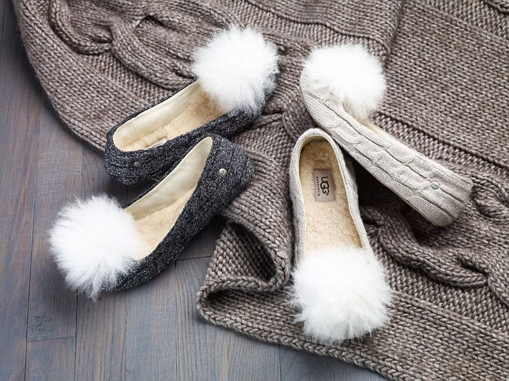 UGG Australia's knite ballet slippers. What a perfect gift!!