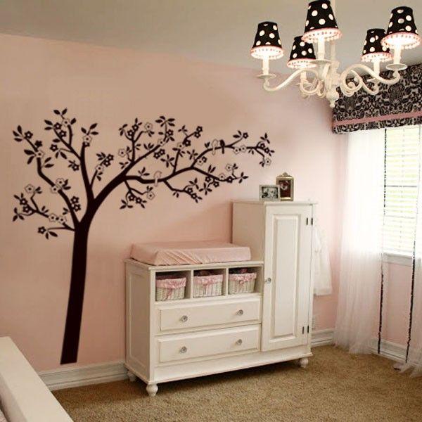 Tree & Birds Wall decal sticker