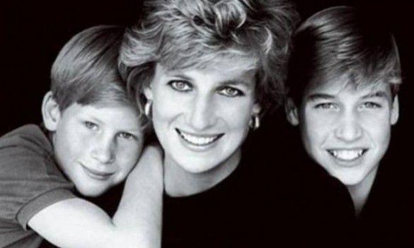 Τα χειρόγραφα της Πριγκίπισσας Diana είναι κυρίως αφιερωμένα στους αγαπημένους της γιους