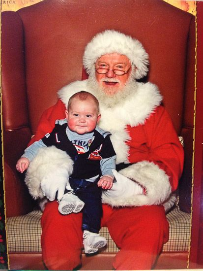 'Tis the Season: 25 Funny Pictures of Kids with Santa