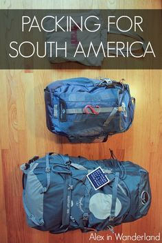 What to pack when traveling to South America   Alex in Wanderland #packingtips #travel