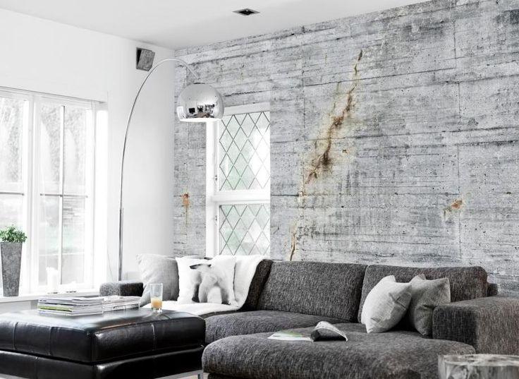 Elegant Concrete Wallpaper Collection By Tom Haga