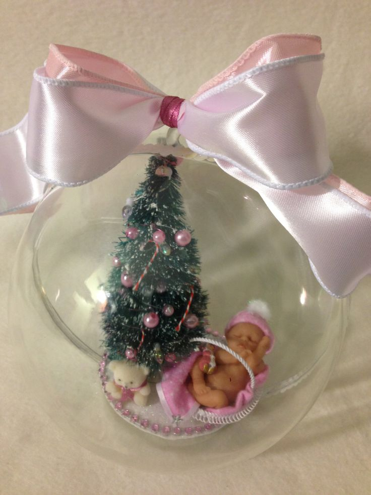 Christmas Baby Girl by pattispeanuts on Etsy
