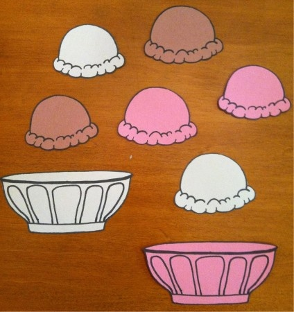 Summer Back to School Ice Cream Bulletin Board Idea