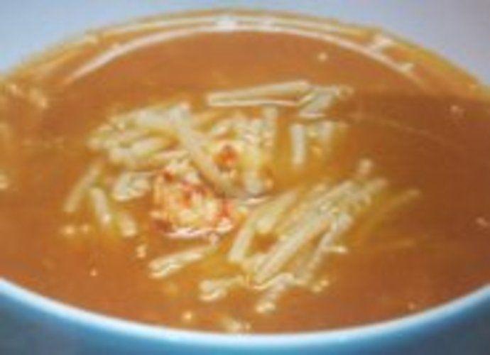 Sopa de gambas para #Mycook http://www.mycook.es/cocina/receta/sopa-de-gambas