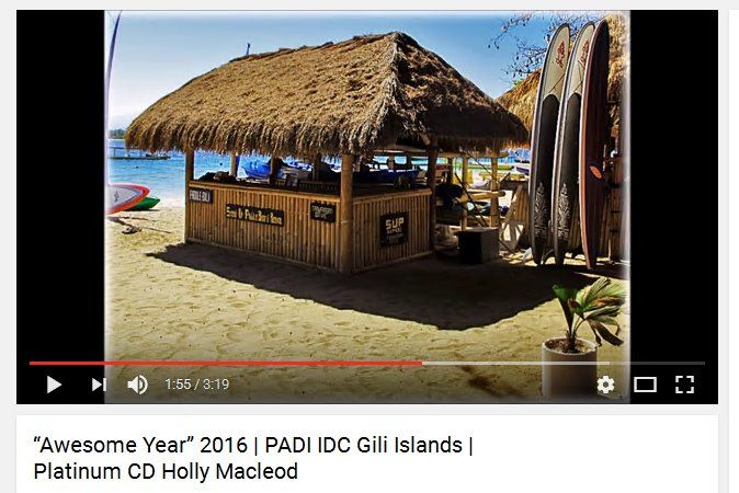 2016 on the PADI Scuba Diving Instructor Development Course (IDC) with Multi Award Winning Triple Platinum PADI Course Director Holly Macleod was amazing and we saw some fantastic professional divers become PADI Scuba Diving Instructors in the Gili Islands, Indonesia #formoredetails https://www.youtube.com/watch?v=Kjjk6H56b8s